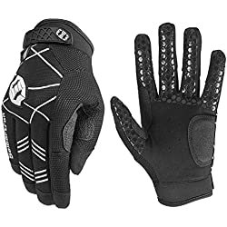 Seibertron B-A-R PRO 2.0 Signature Baseball/Softball Batting Gloves Super Grip Finger Fit for Adult Black L