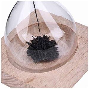 Fangfeen Reloj de Arena Mano-soplado Imán Base de Madera artesanía de Reloj de Arena para el Regalo de Escritorio decoración del hogar 4