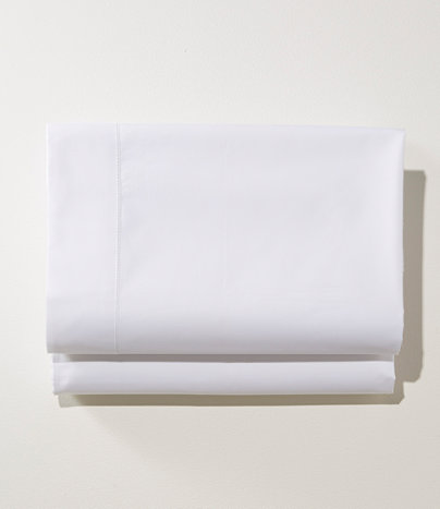 280-Thread-Count Pima Cotton Percale Sheet, Flat | Free Shipping at L.L.Bean