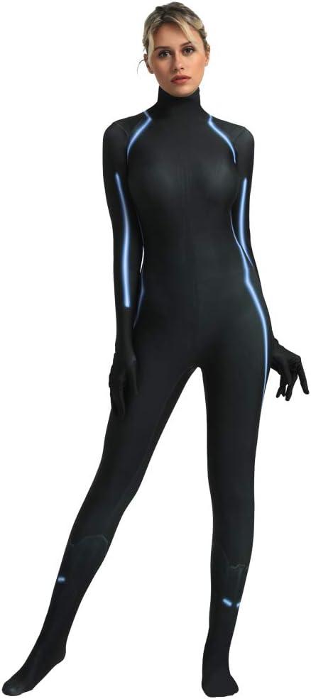 FYBR Disfraz de superpiel de Viuda Negra para Adultos, Unisex ...