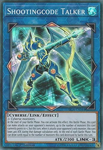 3 x YuGiOh FIGA-EN043 CODE TALKER Super Rares 1st CYBERSE Fist of the Gadgets