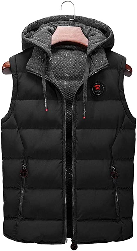 SoulCal/ Mens Double Layered Zip Gilet Sleeveless