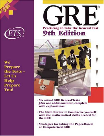GRE Practicing Take General Test product image