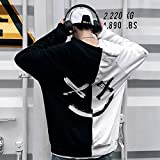 Mens Boys Fashion Hooded Jerseys Long Sleeve