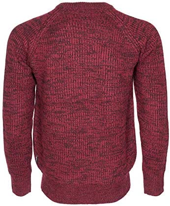 NOROZE Mens Chunky Cable Knit Jumper Winter Pullover Ribbed Sweater
