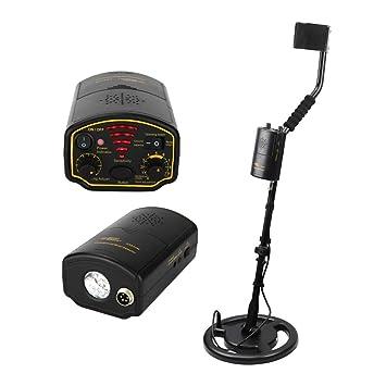 MOIMK Detector De Metales Subterráneo Depth1.5m De Escáner Herramienta Buscador para El Oro Excavador Tesoro Busca Hunter: Amazon.es: Hogar