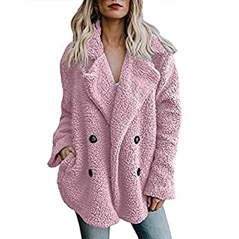 Linlink Chaqueta Casual para Mujer Invierno Cálido Parka Outwear para Mujer Abrigo Abrigo Outercoat