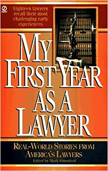 Book My First Year as a Lawyer: Real-World Stories from America's Lawyers