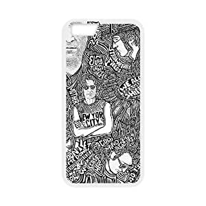 """Iphone6 Plus 5.5"""" 2D Personalized Phone Back Case with John Lennon Image"""