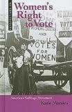 Women's Right to Vote, Katie Marsico, 0761449809