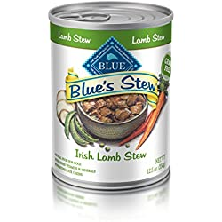 BLUE's Stew Adult Irish Lamb Stew Wet Dog Food 12.5-oz (Pack of 12)