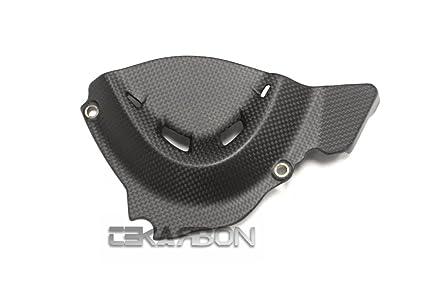 1x1 plain 2007-2012 Ducati 1198 1098 848 Carbon Fiber License Plate Holder