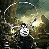 I am Burdened with Glorious Purpose Key Ring Loki