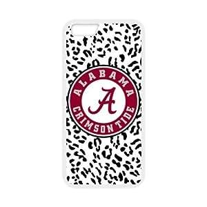 "Generic Custom Unique Design NCAA University of Alabama Crimson Tide Team Logo Plastic and TPU Case Cover for iPhone6 4.7"" hjbrhga1544"