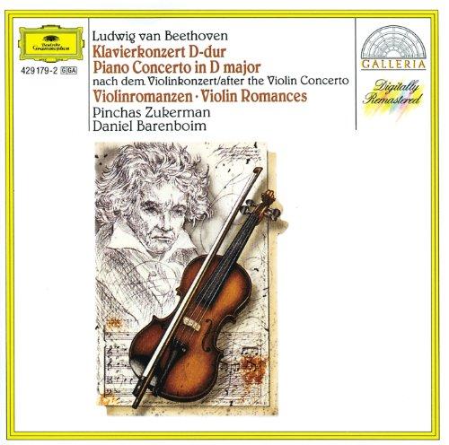 - Beethoven: Piano Concerto after the Violin Concerto; Violin Romances