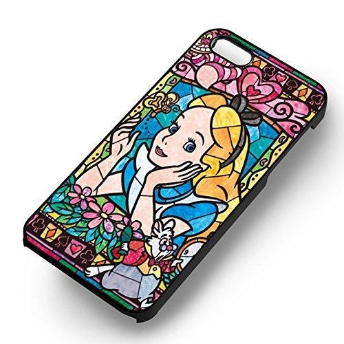 Weird Stained Glass pour Coque Iphone 6 et Coque Iphone 6s Case (Noir Boîtier en plastique dur) H9S5RO