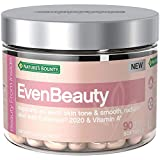 Nature's Bounty EvenBeauty Beauty Multivitamins, with Vitamin A and Lutemax 2020, Skin Care Supports Even Skin Tone and Smooth, Radiant Skin*, 90 Softgels