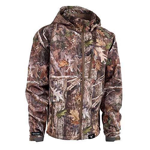 359f7c073066b Amazon.com: True Timber Mens Pulse Softshell Jacket-Kanati-L: Sports &  Outdoors