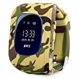 GuzelWorld 2G gps tracker for kids - 2017 Best selling smart watch with GPS tracker,two way call function,Anti-lost alert and SOS..FREE extra watch strap.