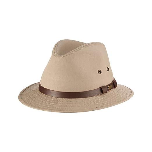 16d02c3862f Stetson Men s Gable Rain Safari Hat at Amazon Men s Clothing store