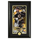 "NHL Boston Bruins Patrice Bergeron Supreme Coin Photo Mint, Bronze, 22"" x 15"" x 4"""
