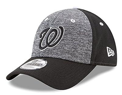 "Washington Nationals New Era 9Forty MLB ""League Shadow 2"" Adjustable Hat - Black"