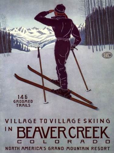BEAVER CREEK COLORADO VILLAGE TO VILLAGE SKIING GRAND MOUNTAIN RESORT WINTER SPORT 16