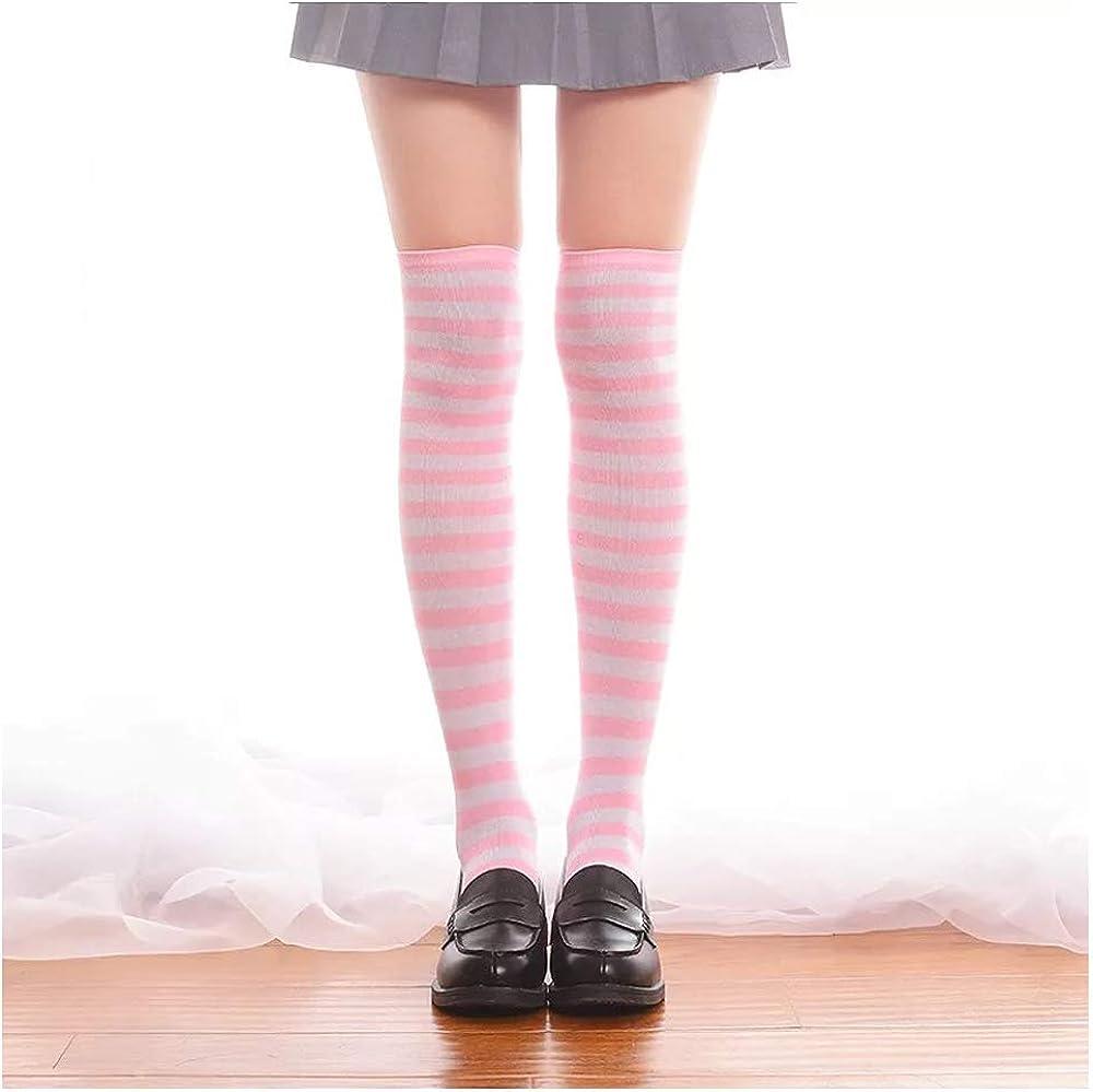 Womens//Girls Funny Musical Instrument Casual Socks Yoga Socks Over The Knee High Socks 23.6