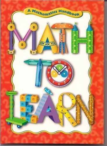 Great Source Math to Learn: Handbook Grades 1 - 2 (Math Handbooks)