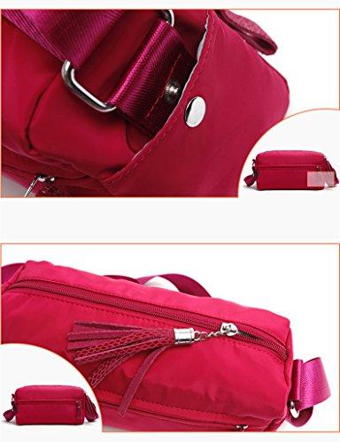 AOTIAN 7766# - Bolso estilo bolera para mujer Varios colores G-MHTY C-NAVY
