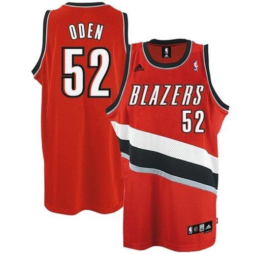 Adidas Portland Trail Blazers Greg Oden Swingman Alternate Jersey Large