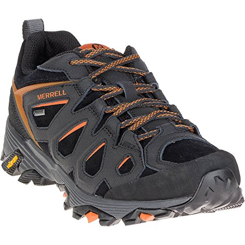 Scarpe Fst Leather Gore-tex Ss17 orange Moab Merrell Black Da Passeggio -