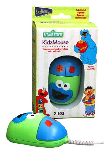 Kidzmouse Cookie Monster Computer Optical Mouse for Kids