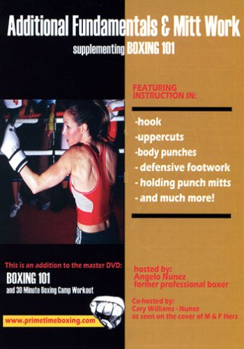 Learn Pads (Learn and teach Boxing- Boxing 201 Additional Fundamentals and Mitt Work)