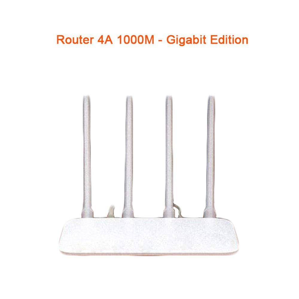 Color : C, Size : Plug 4A Router Gigabit Edition High Gain 4 Antenna APP Control IPv6