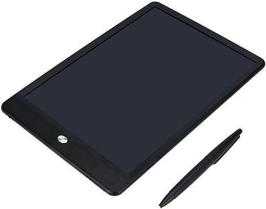 10インチ液晶ライティングタブレットデジタル描画手書きタブレットポータブルライティングボード超薄型省エネ-ブラック
