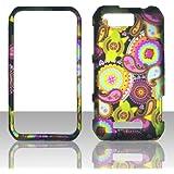 2D Multi Paisley Motorola Photon Q LTE XT897 Sprint Case Cover Phone Snap on Cover Case Faceplates