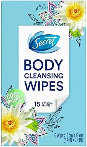 Deodorant: Secret Body Cleansing Deodorant Wipes