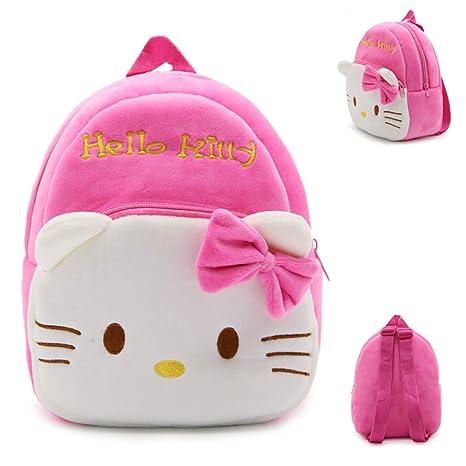 d26dfcb8cfa7 Cute Toddler Backpack for Girl Boy Kids Preschool Bags Nursery Shoulder  Backpack Cute Cartoon Design Plush