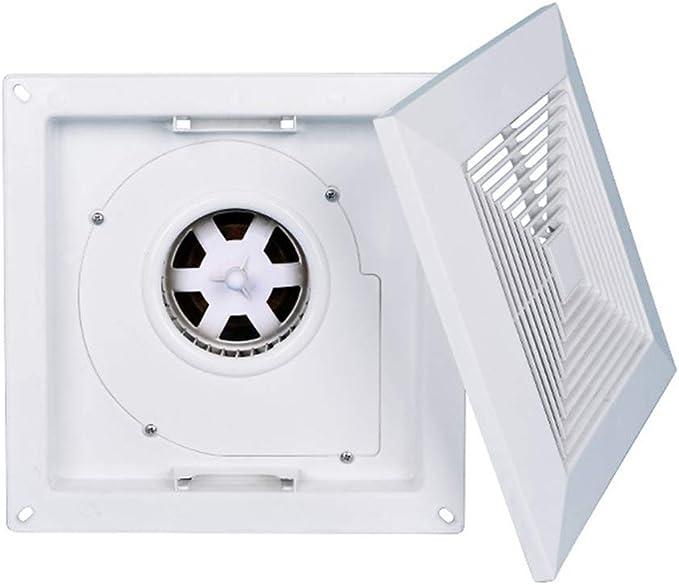 Extractor de techo, Potente extractor de baño de cocina extractor extractor, Ventilador de escape ultrafino de alta potencia y bajo nivel de ruido, Apto para salón, dormitorio, baño, cocina ZDDAB.: Amazon.es: Hogar