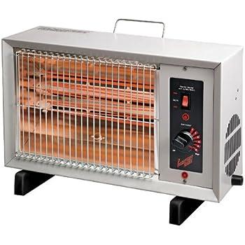 Amazon Com Comfort Zone Electric Radiant Heater Home