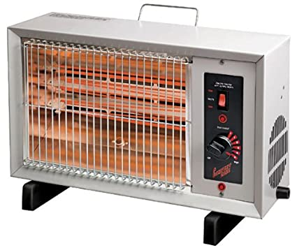 amazon com comfort zone electric radiant heater cz530 home kitchen
