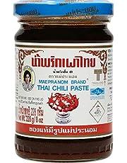 Mae Pranom Thai Chili Paste 8oz. (M) Thai Food Cooking Product of Thailand by Mae Pranom