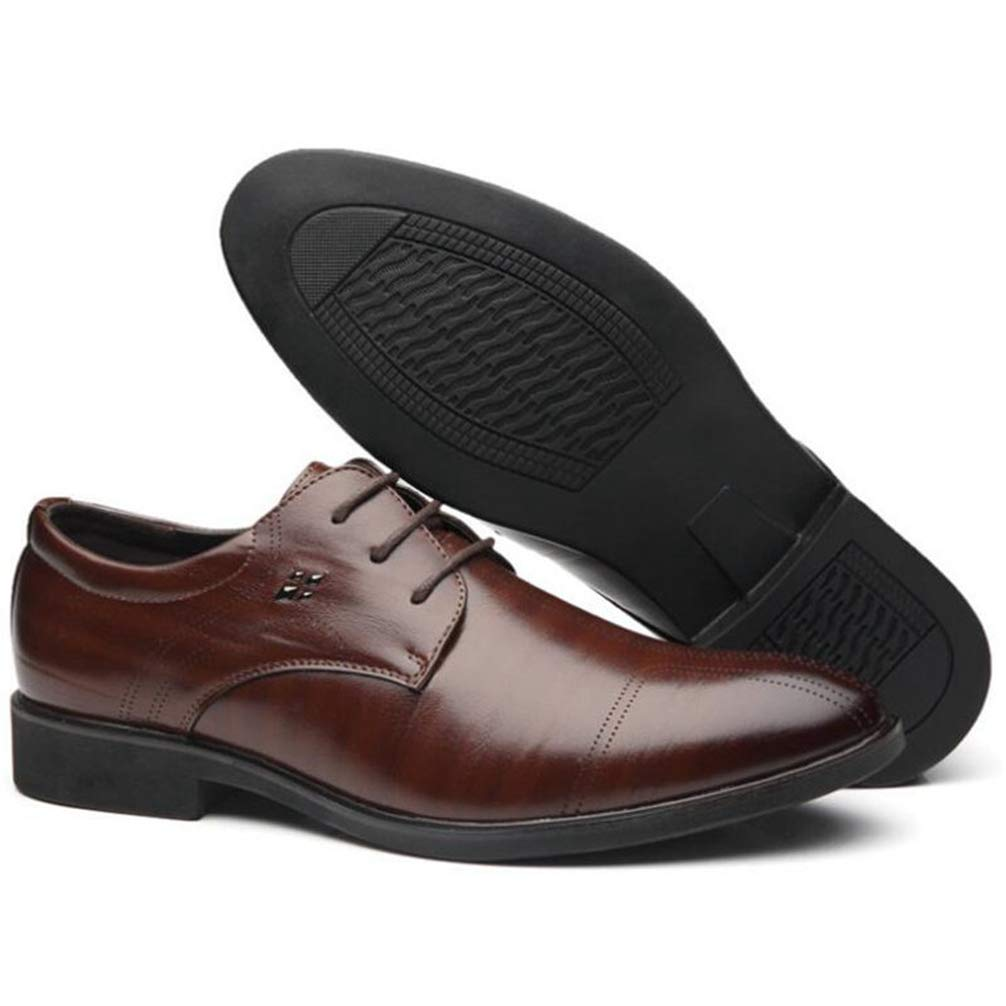 Phil Betty Mens Business Dress Shoes Rubber Outsole Comfortable Oxfords Shoes by Phil Betty (Image #5)