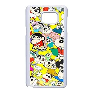 Generic for Samsung Galaxy Note 5 Cell Phone Case White Crayon Shin chan Custom HAKHAOKHG4896