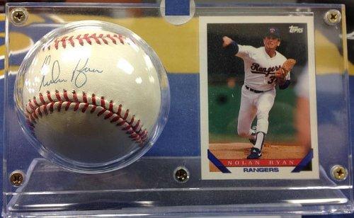 Nolan Ryan Ball (Nolan Ryan Autographed Official MLB Baseball)