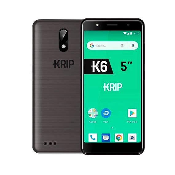 Krip K6 5 0'' 3G, Android 8 1 Oreo( Go Edition), 1Gb Ram,16Gb Rom, Dual  Camera, Dash Wallet + Dash Digital Cash included Smartphone GunMetal