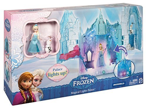 Disney Frozen Small Doll Elsa and Magical Lights Palace Exclusive Playset - Exclusive Playset Light