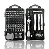 Royace Precision Screwdriver Set,119 in 1 Laptop Screwdriver Kit Mini Screwdriver Set Magnetic, Impact Driver Bits Set with Case,Computer Repair Tool Kit for Iphone,Electronics,Ps3s,Micro Hand Tools