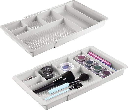 Vanities Free Shipping Ca.. mDesign Makeup Organizer for Bathroom Countertops